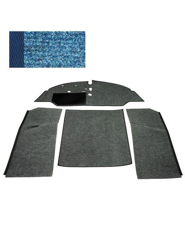 Carpet Set for Left Hand Drive Bench Blue