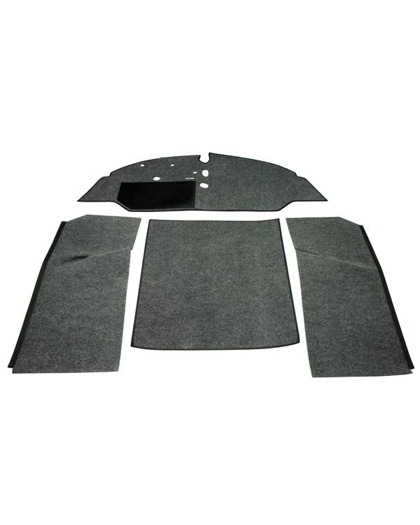 Carpet Set for Left Hand Drive Bench Charcoal