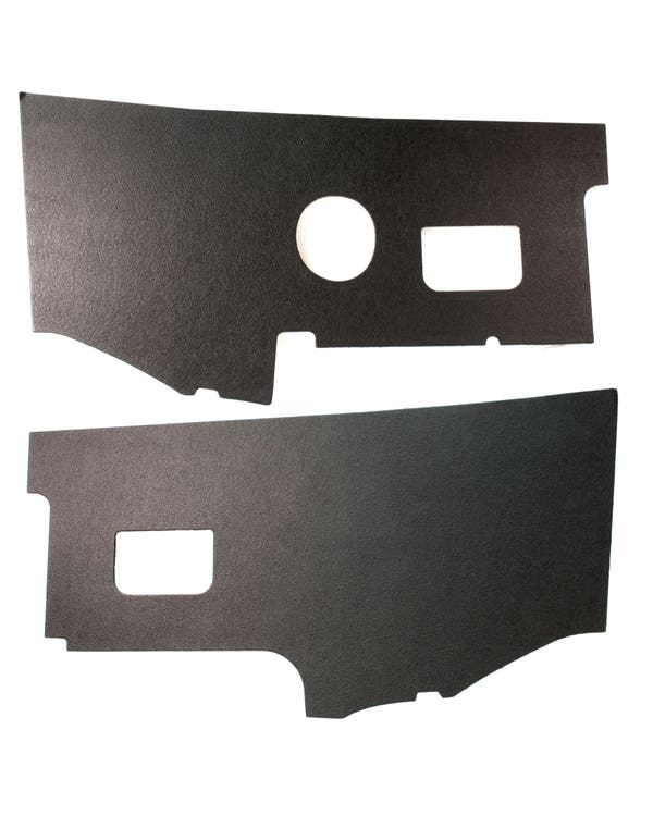 Kick Panels for Right Hand Drive in Black Board