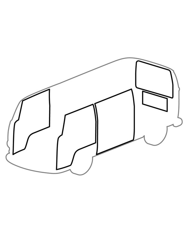 Kit de junta de apertura, modelos con el volante a la derecha