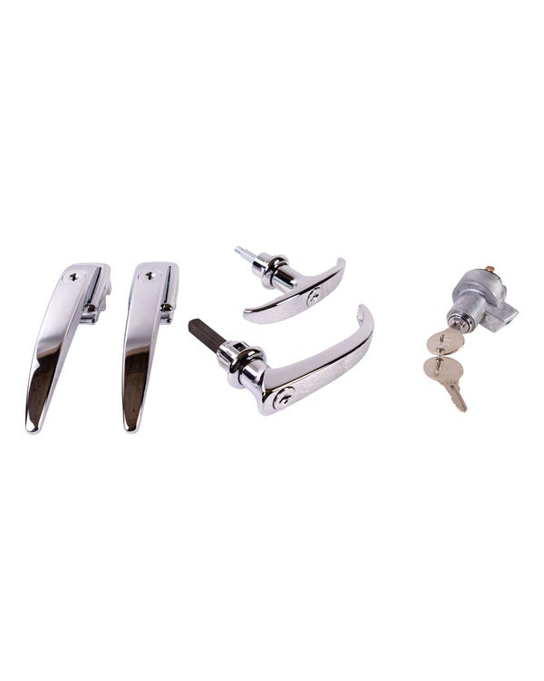 Lock Set, Ignition Switch & Door Handles with Matching Keys