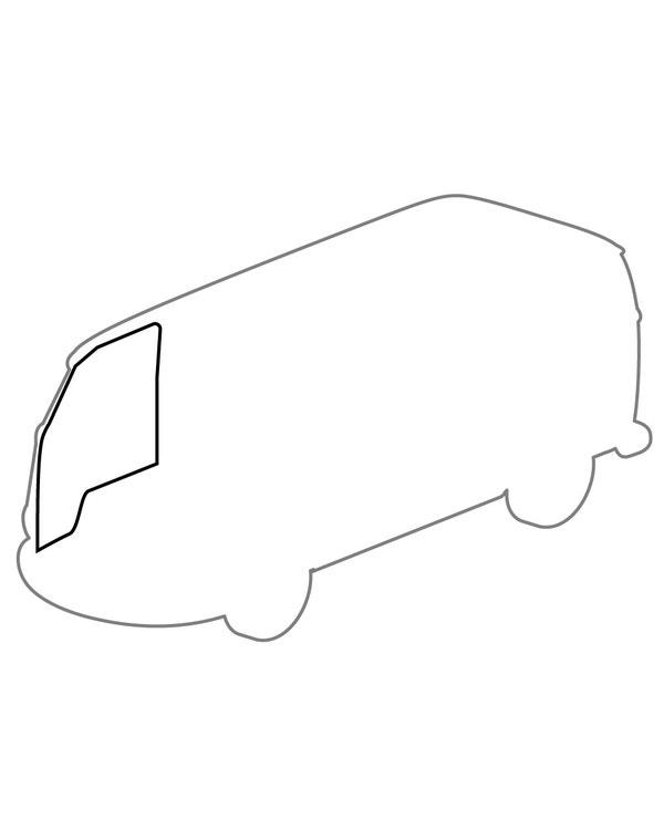 Türrundumdichtungssatz, 4-teilig, links oder rechts