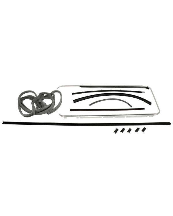 Door Seal 12 Piece Set Right with Fixed Quarter Window Best Quality