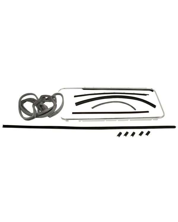Right Door Seal 12 Piece Set with Fixed Quarter Window