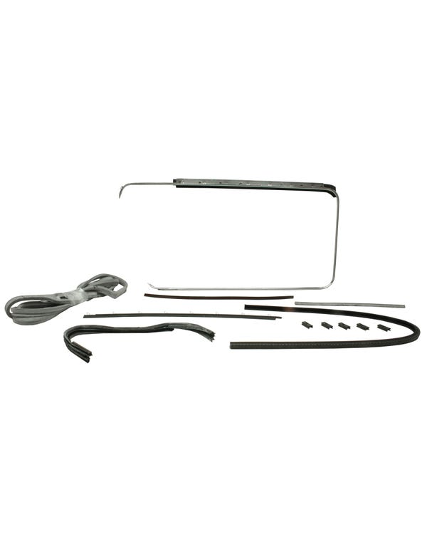 Right Door Seal 12 Piece Set with Opening Quarter Window