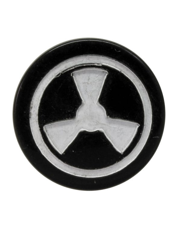 Fresh Air Knob Cap with Fan Symbol