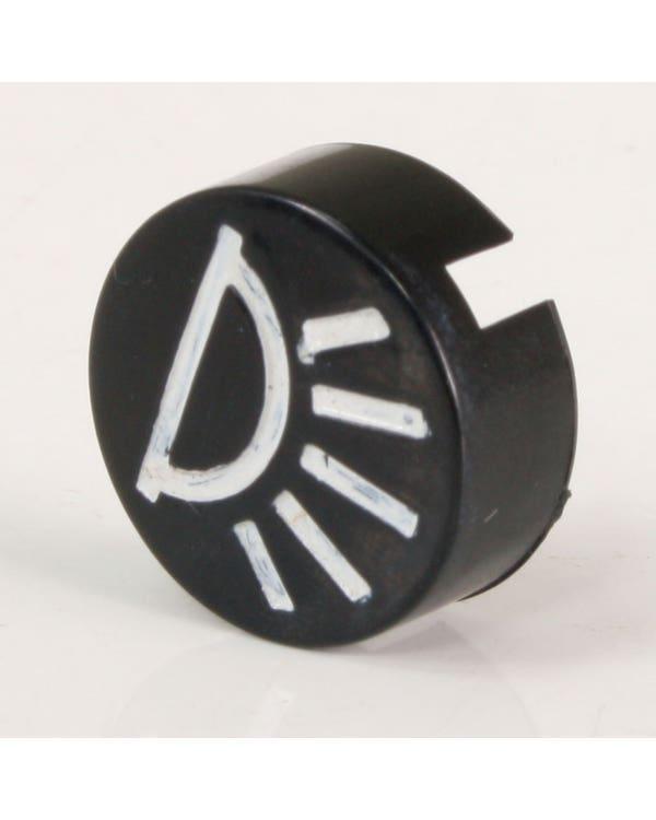 Interior Light Switch Cap with Symbol