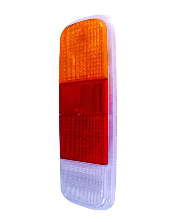 Rear Light Amber Red and Clear Lens