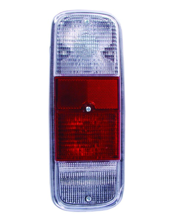 Rear Light Clear Red and Clear Lens