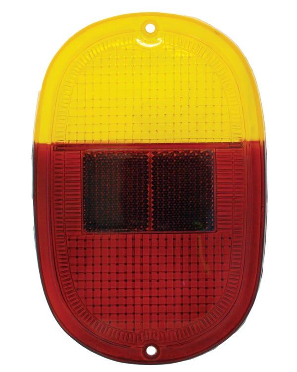 Rückleuchtenglas orange/rot