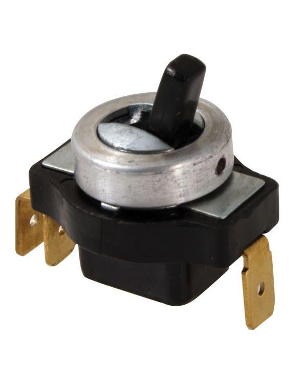 Interior Light Switch Black Toggle