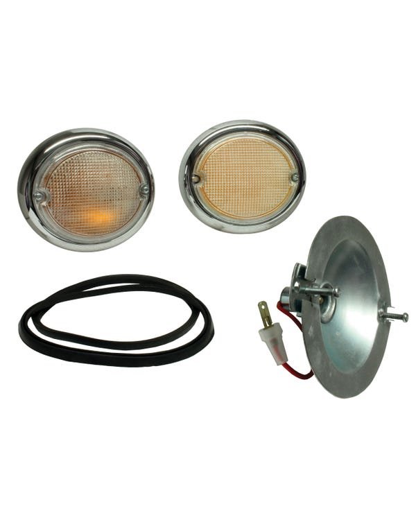 Front Indicator Assembly with Clear Lens Pair