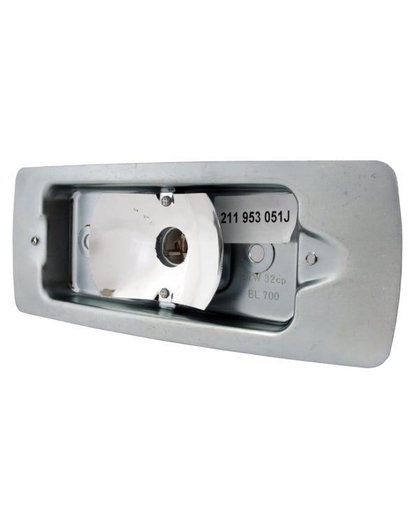 Porta lámpara, Intermitente delantero izquierdo, T2 68-72, Euro Spec, Reproducción