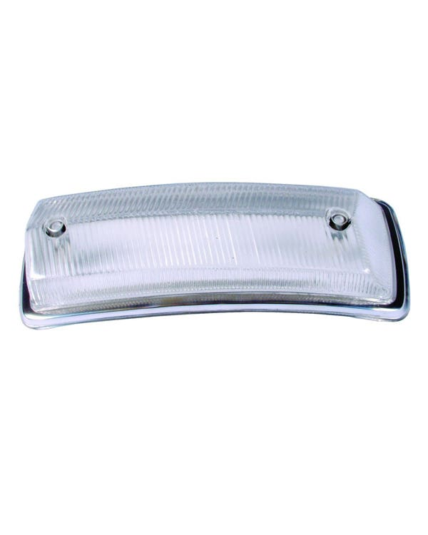 Front Indicator Lens, Clear, Left