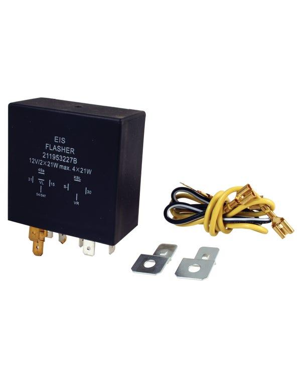 Indicator Relay 9 Terminal 12 Volt 4 x 21W