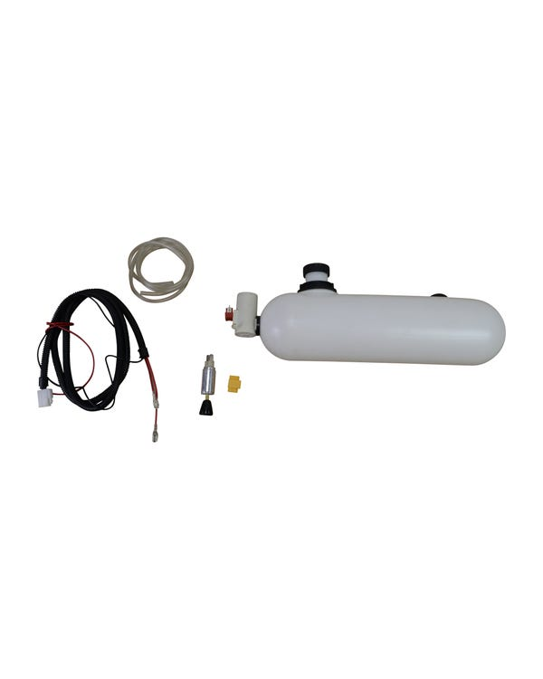 Washer Bottle and Pump 12 Volt Complete Kit
