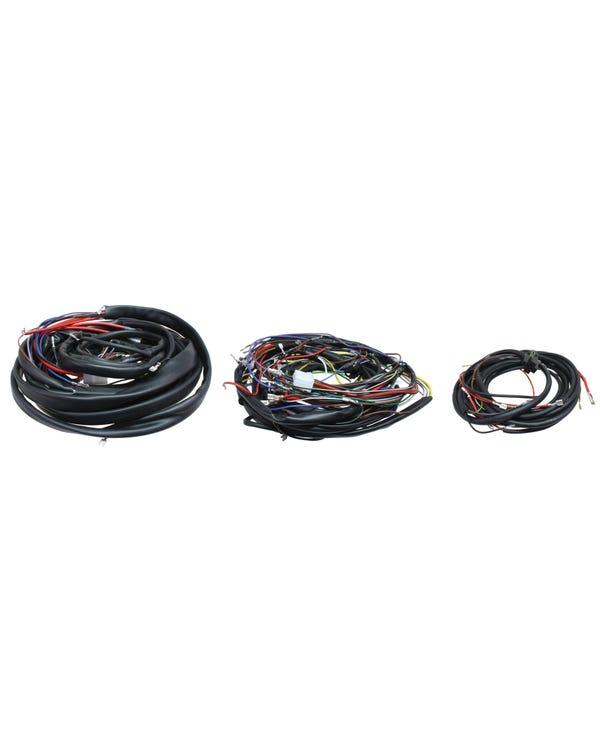 Complete Wiring Loom, Left Hand Drive, European Spec, 1600cc