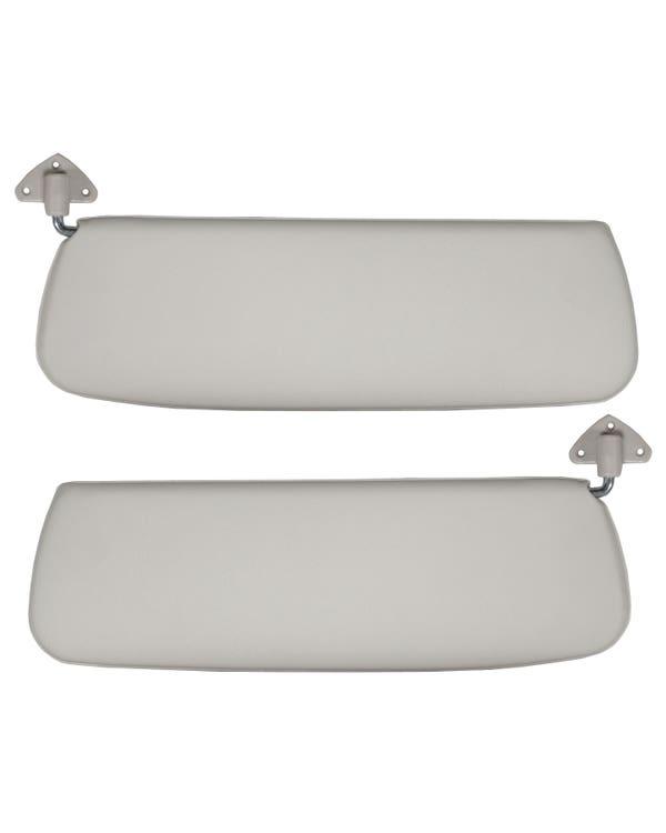 Sun visors in White