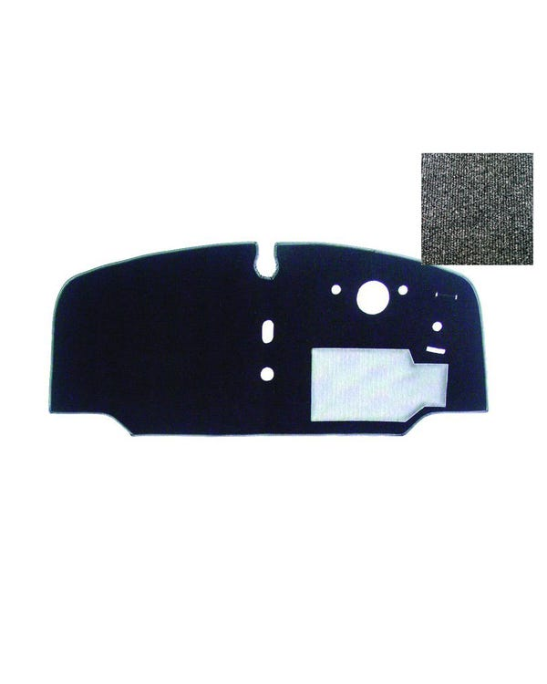 Cab Floor Carpet for Right Hand Drive Charcoal