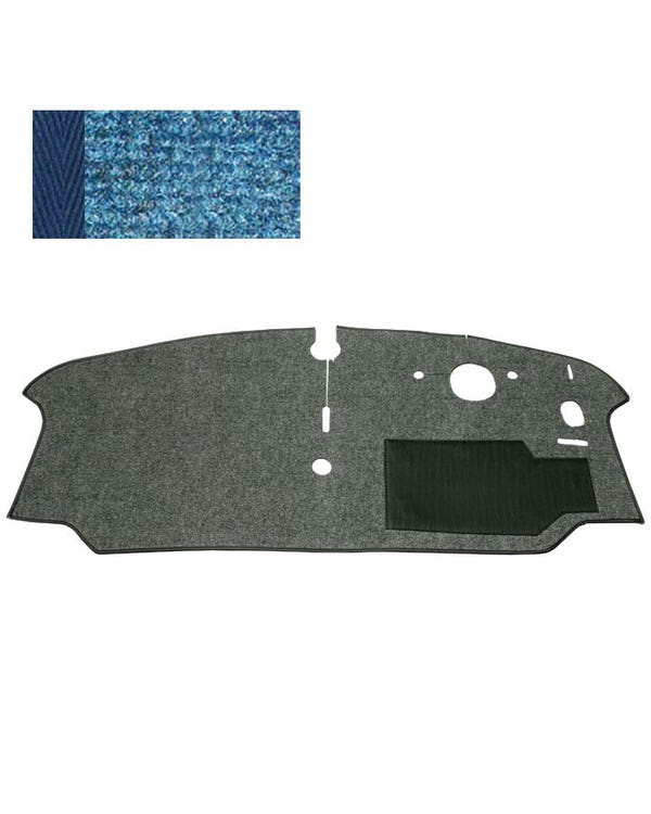 Cab Floor Carpet for Right Hand Drive Blue