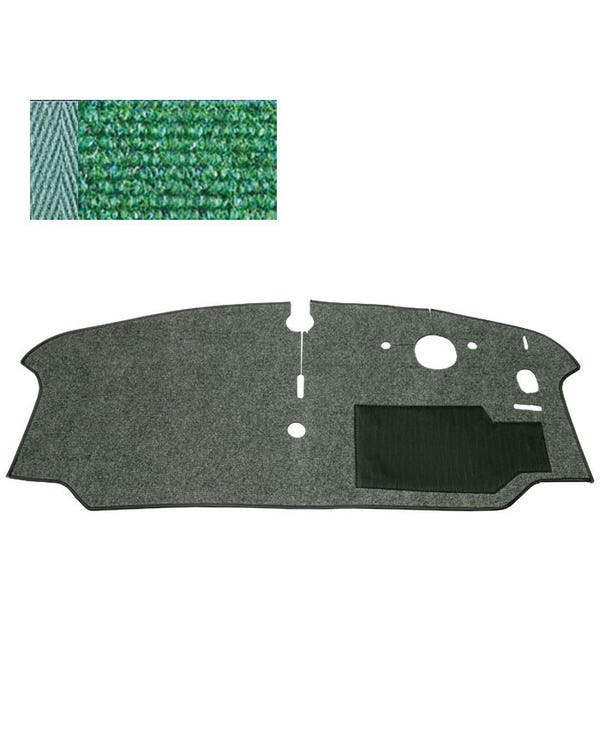 Cab Floor Carpet for Right Hand Drive Green