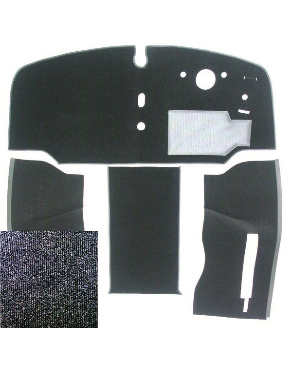 Carpet Set for Right Hand Drive, Charcoal