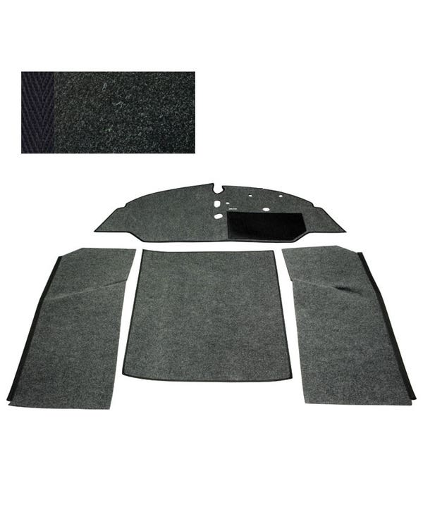 Carpet Set for Right Hand Drive Bench Black