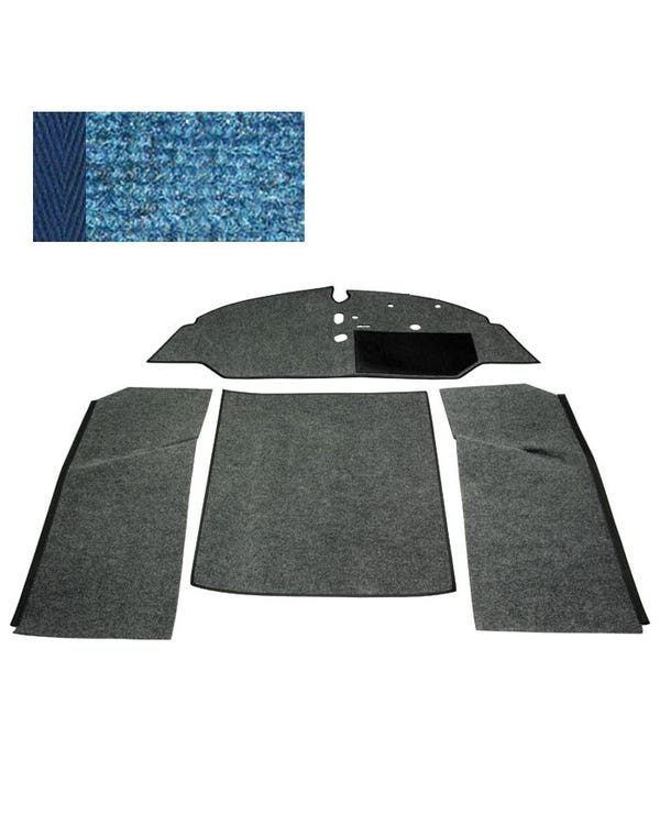 Carpet Set for Right Hand Drive Bench Blue