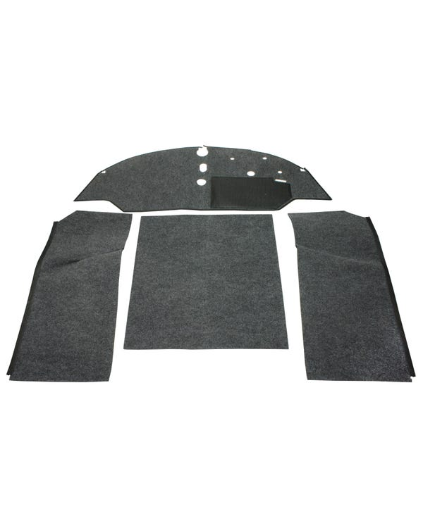 Carpet Set for Right Hand Drive Bench Charcoal
