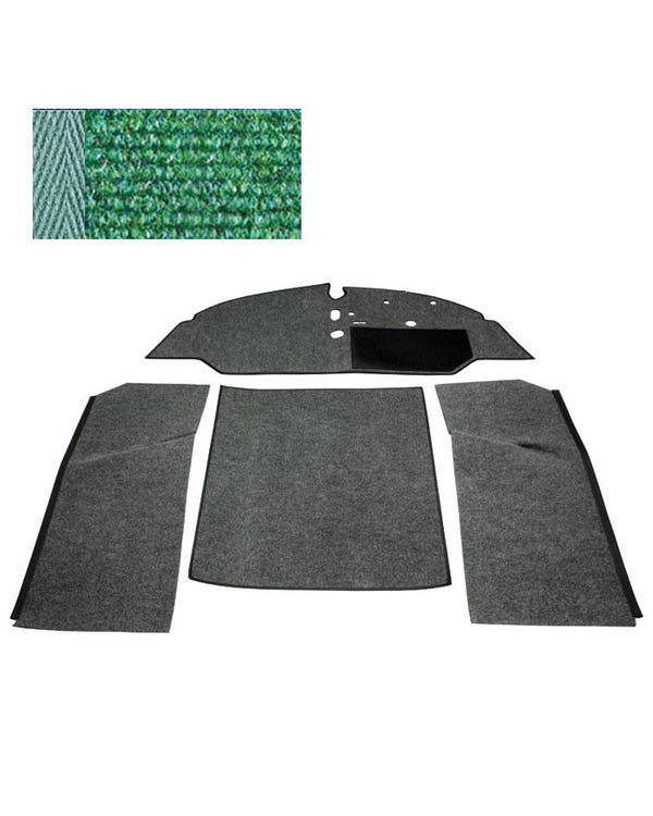 Carpet Set for Right Hand Drive Bench Green