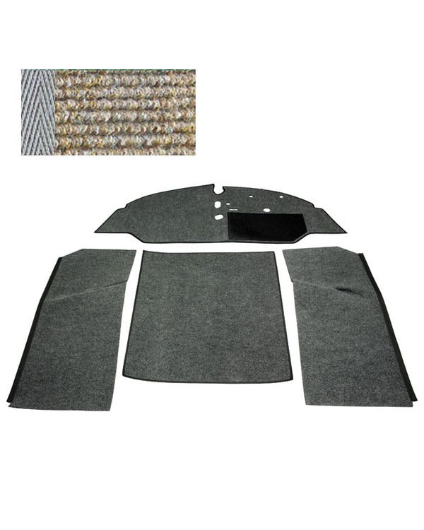 Carpet Set for Right Hand Drive Bench Oatmeal