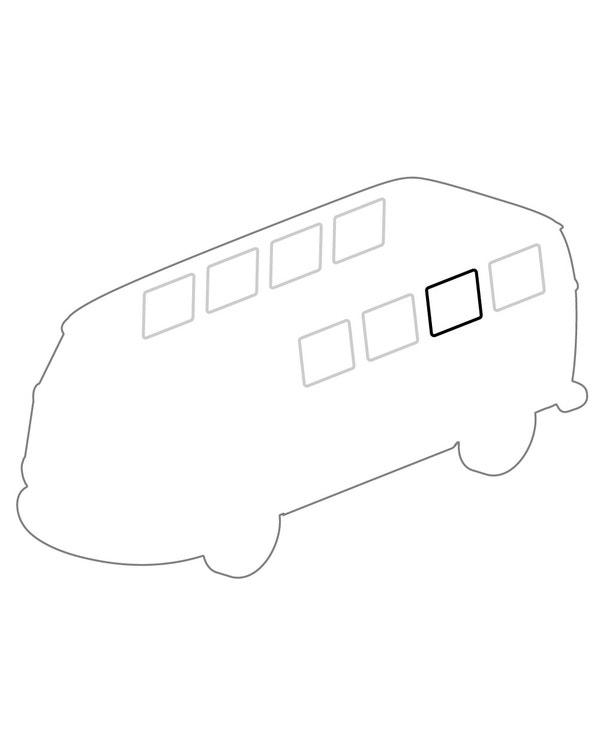Side Fixed Window Seal Plain