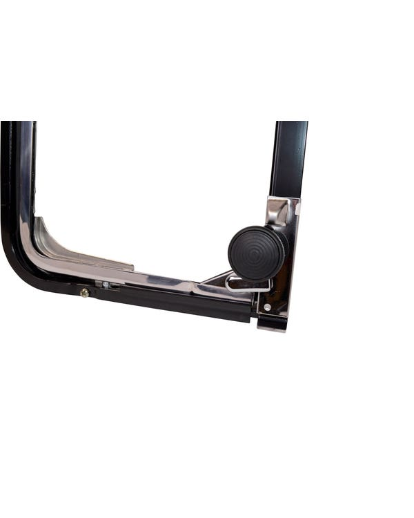 Centre or Rear Side Window Opening Quarter Light, Right