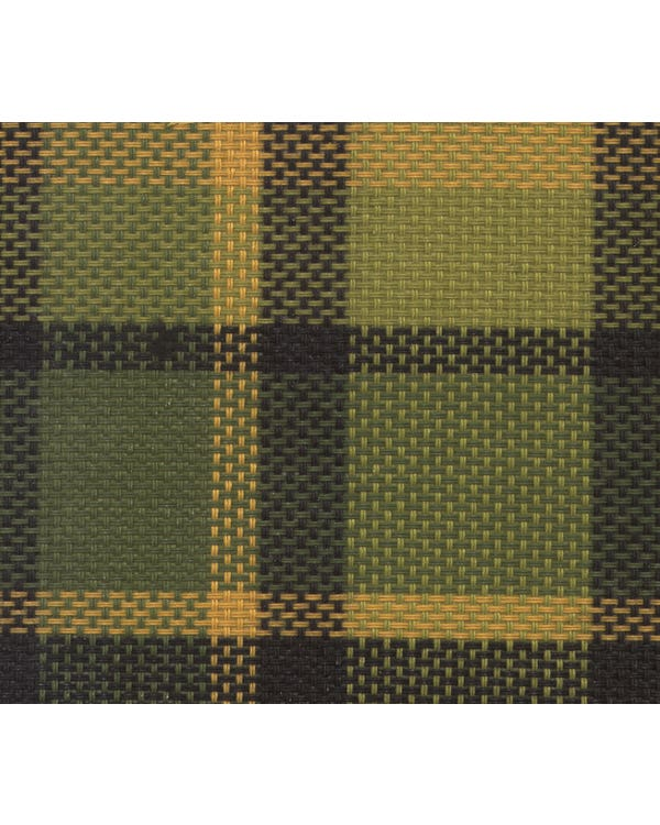 Fabric Westfalia Green & Yellow Plaid Per Meter