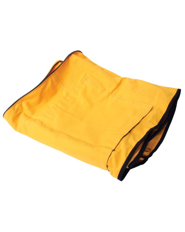 Westfalia Pop-Top Canvas in Yellow.