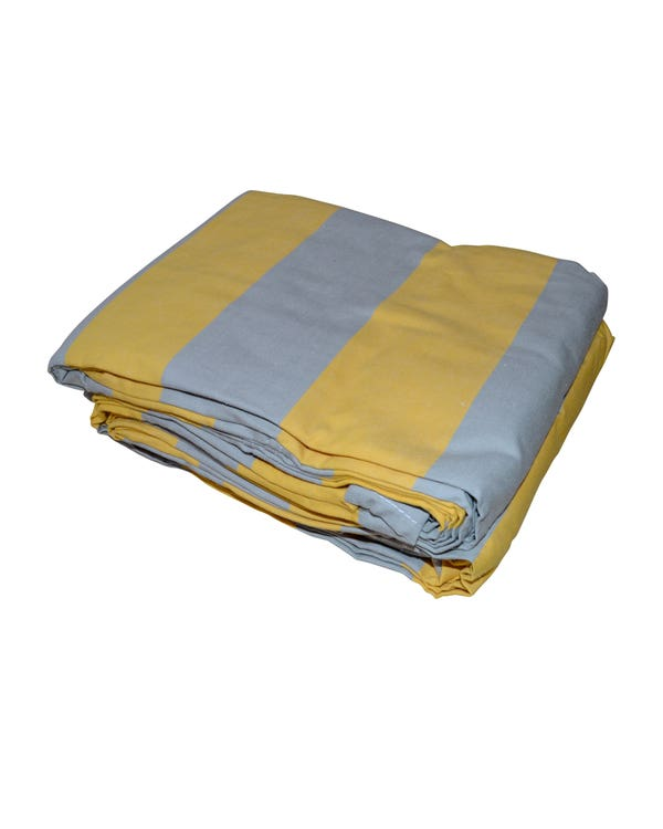 Yellow and Grey Canvas for Westfalia Large Tents