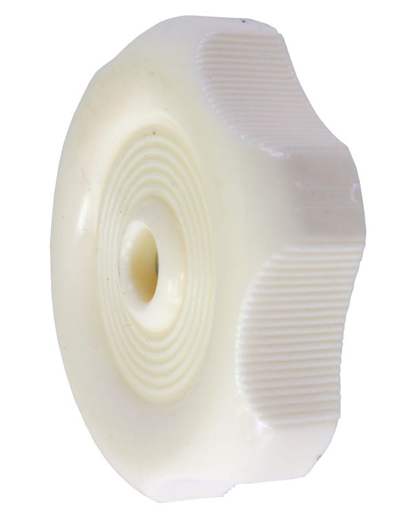 Westfalia Window Knob finished in White