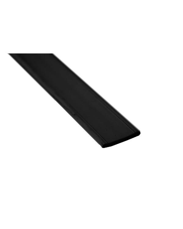 Westfalia Rubber Edge Trim Flat Profile Black
