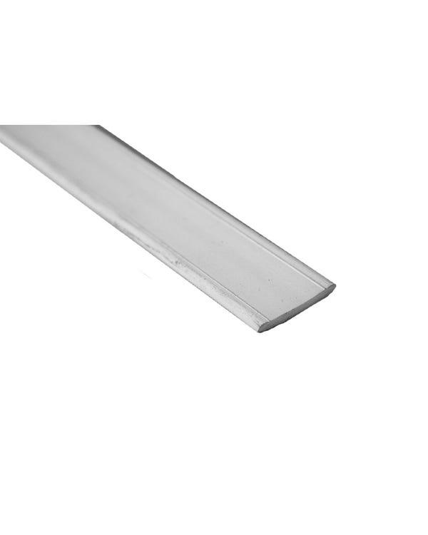 Westfalia Rubber Edge Trim Flat Profile Grey