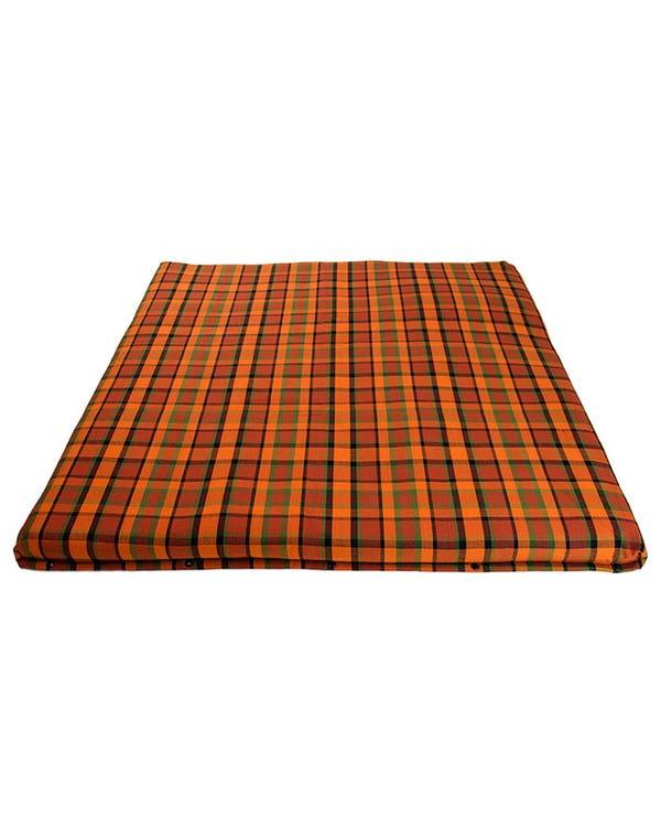 Upper Bed Cover Large, T2 Baywindow, Westfalia, Orange