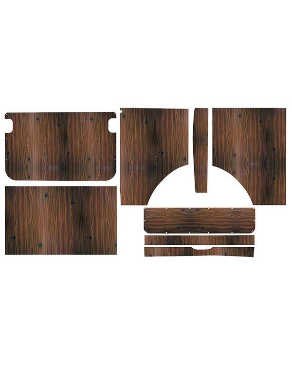 Kit 8 paneles de madera interiores para Westfalia Helsinki