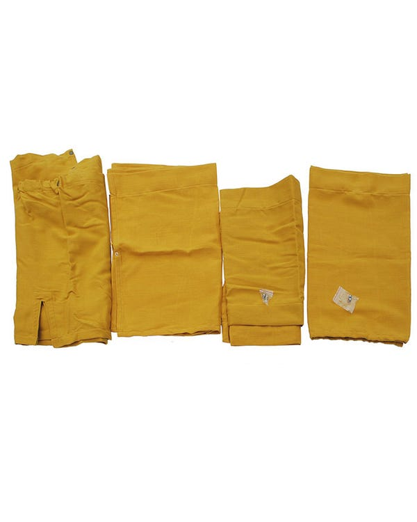 Westfalia 10 Piece Yellow Curtain Set