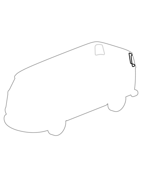Rear Corner Window Seal for 15/23 Window