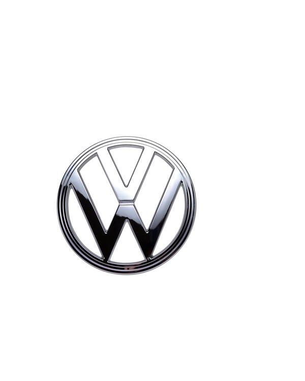 Front VW Emblem Chrome Plastic
