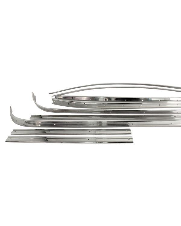 Deluxe Trim Set Aluminium Left Hand Drive 13 or 21 Window
