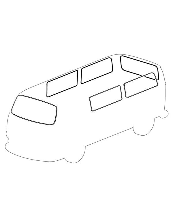 Kit Gomas ventanas deluxe