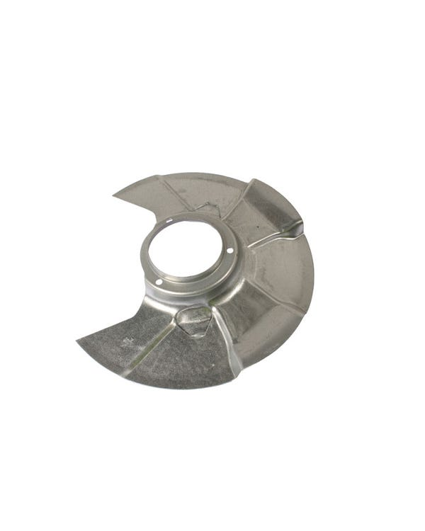 Front Brake Disc Backing Plate Right