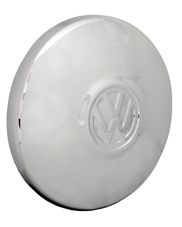 Tapacubos. Plano.Logo VW