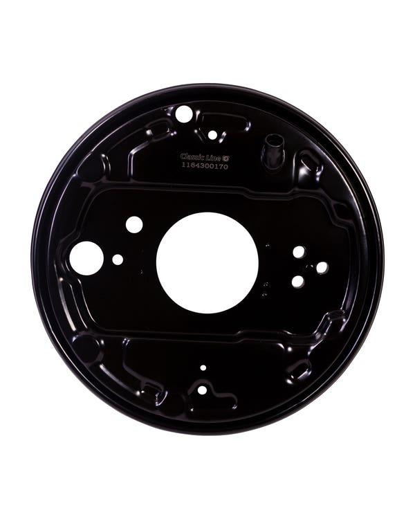 Rear Brake Drum Backing Plate Left