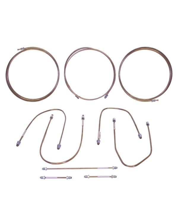 Kit de tubo de freno en cobre níquel